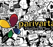 Doodle Art Parivartan Office Wall