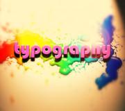 typography 3D wallpaper