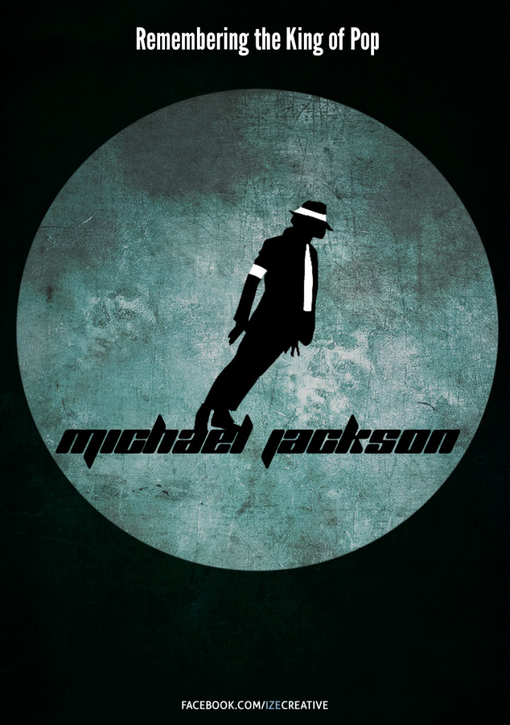 Michael Jackson Minimalist Poster