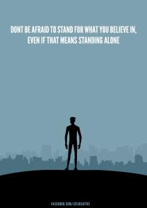 Motivational Quote Minimalist Poster