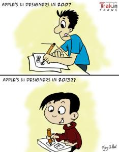 Apple ios7 ui designer