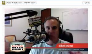 Mike Stelzner Social Media Examiner