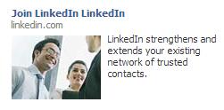 LinkedIn FB Ad