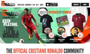 Cristiano Ronaldo Website Viva Ronaldo