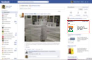 Facebook Screenshot Congress Ad