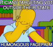 Politicians Targeting Wrong Audience Facepalm