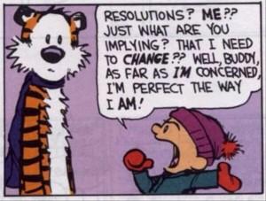 new year resolution change acrtoon