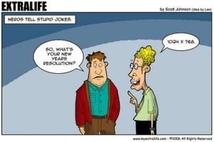 new year resolution cartoon