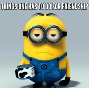 MINION FRIENDSHIP