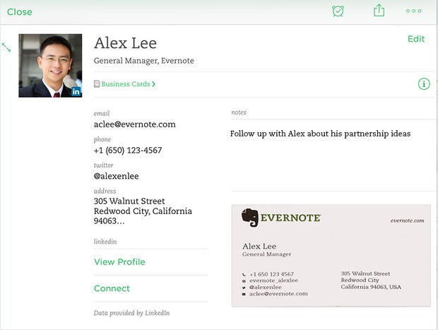 linkedin-evernote-ios-cardscan-contact-note