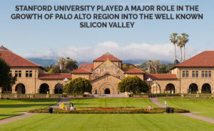 Stanford University role in growth of Silicon Valley