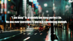 Lying being busy wallpaper